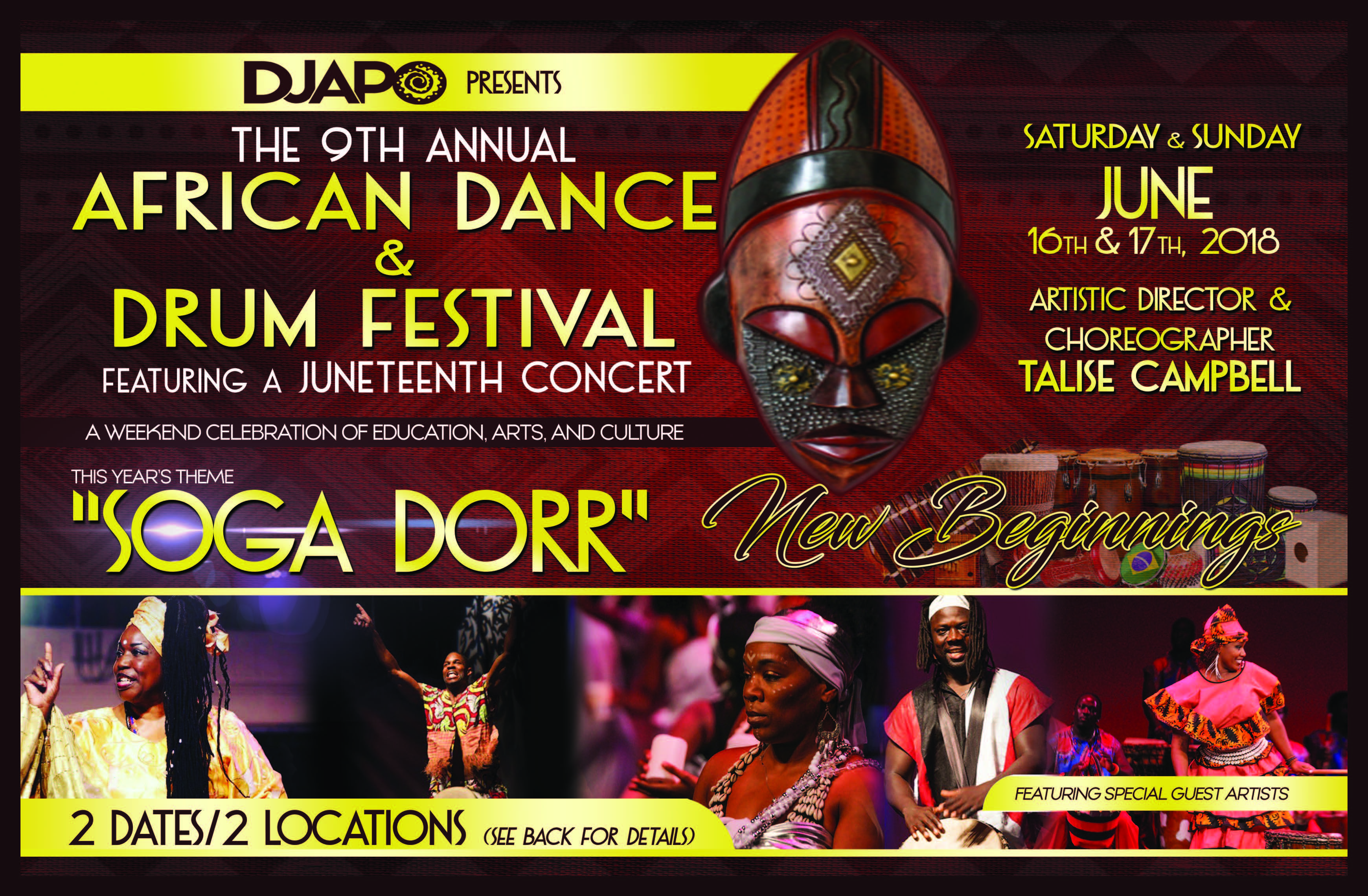 Djapo 2018 Juneteenth Flyer