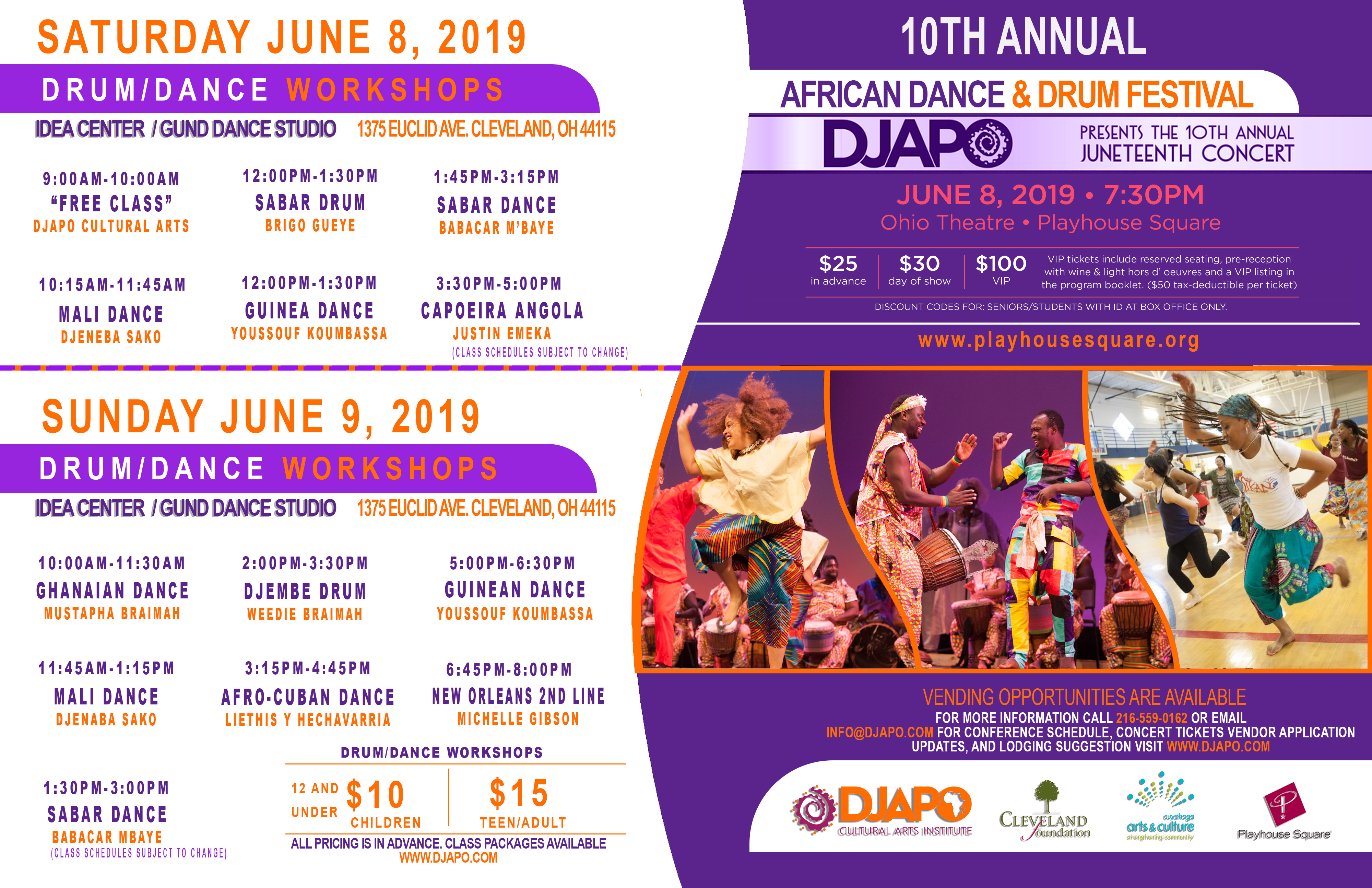 Djapo Juneteenth Classes Offered